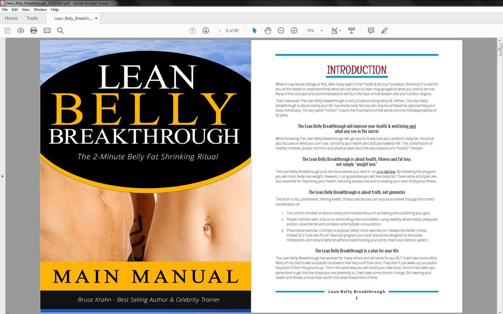 Lean Belly Breakthrough Preview