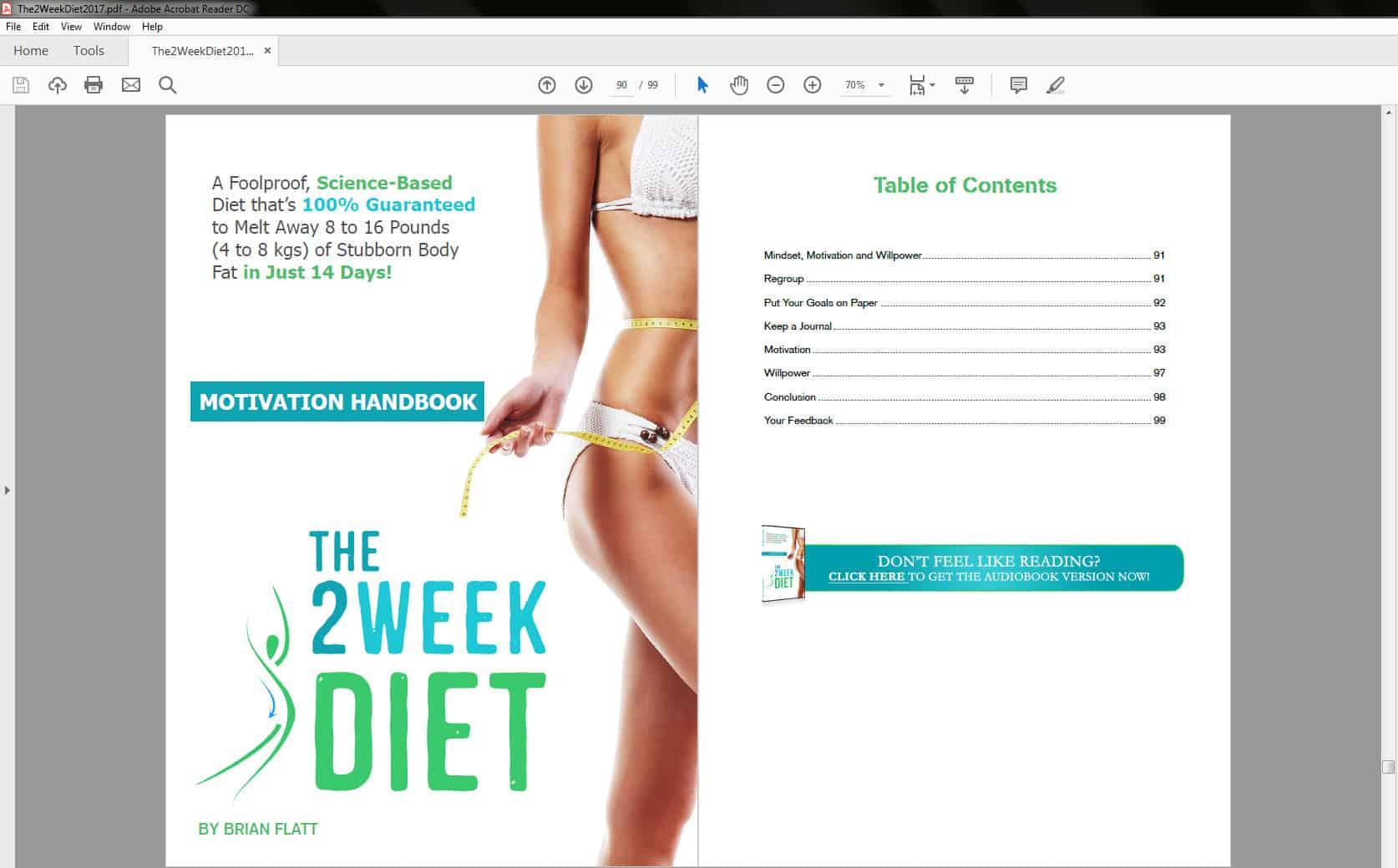Motivation Handbook Table of Contents