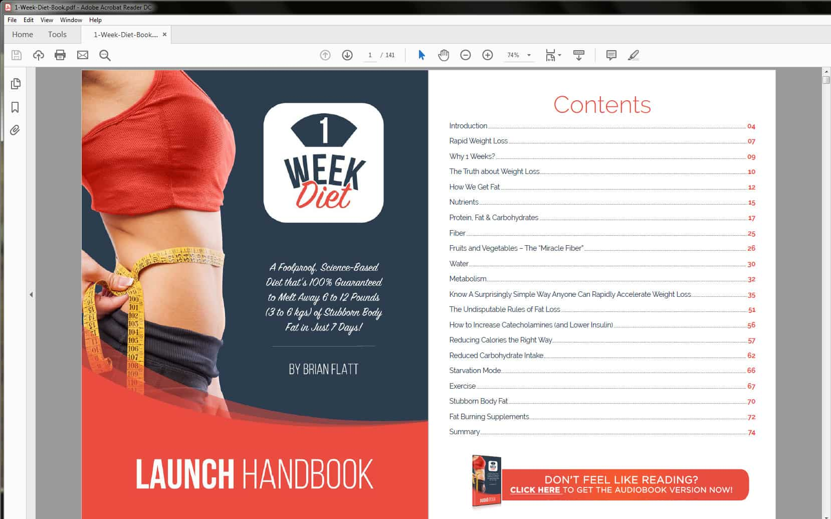 The Launch Handbook's Table of Contents