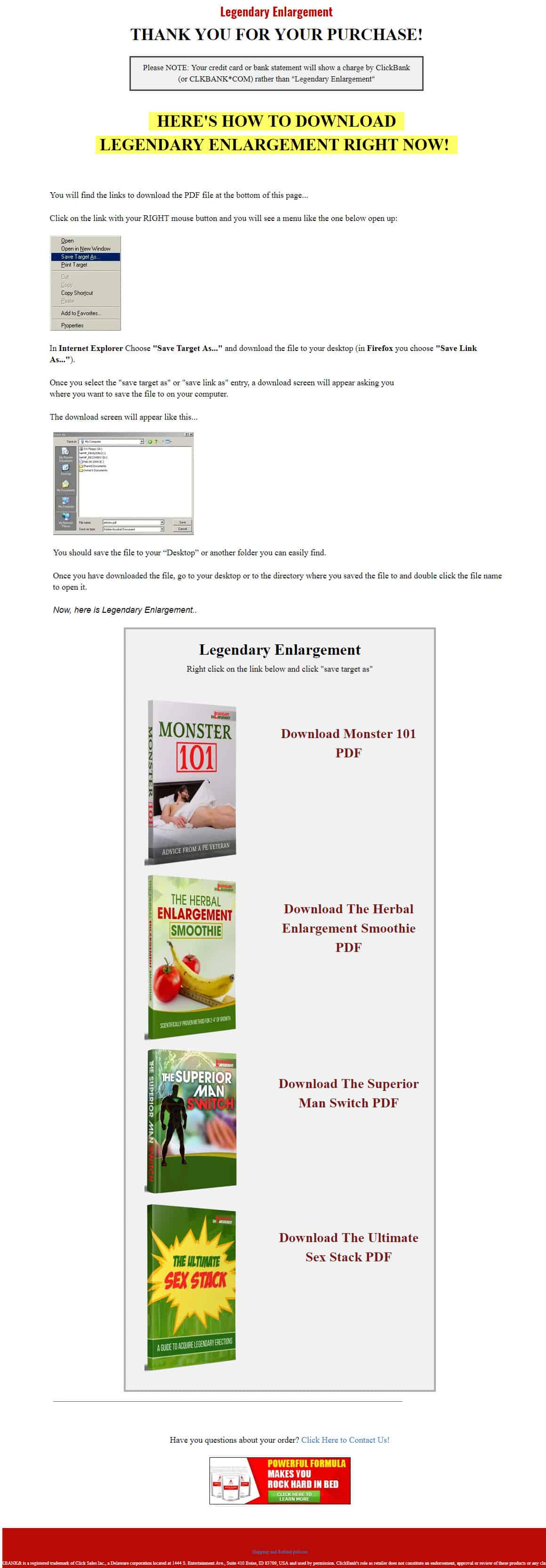 Legendary Enlargement Review: What is the System About?
