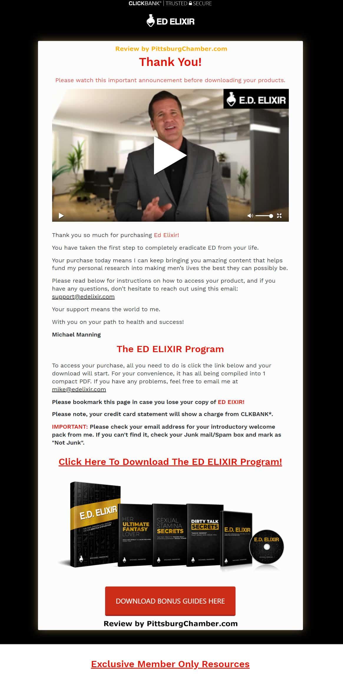 E.D. Elixir Download Page