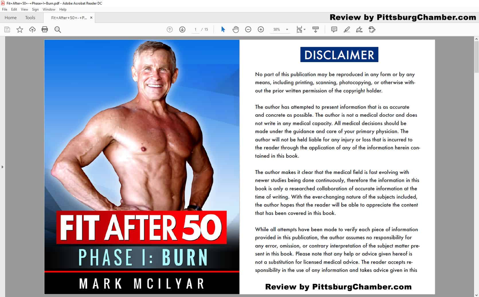 Fit After 50 Table of Contents